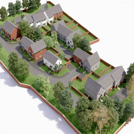 Countrywide developments West Horndon, Essex,, 20 residential houses being built.